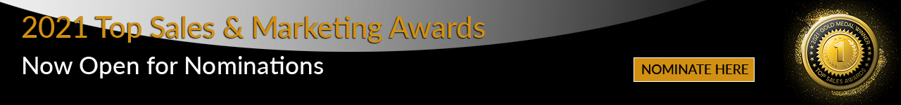 Top Sales Awards 2021 - Open for Nominations